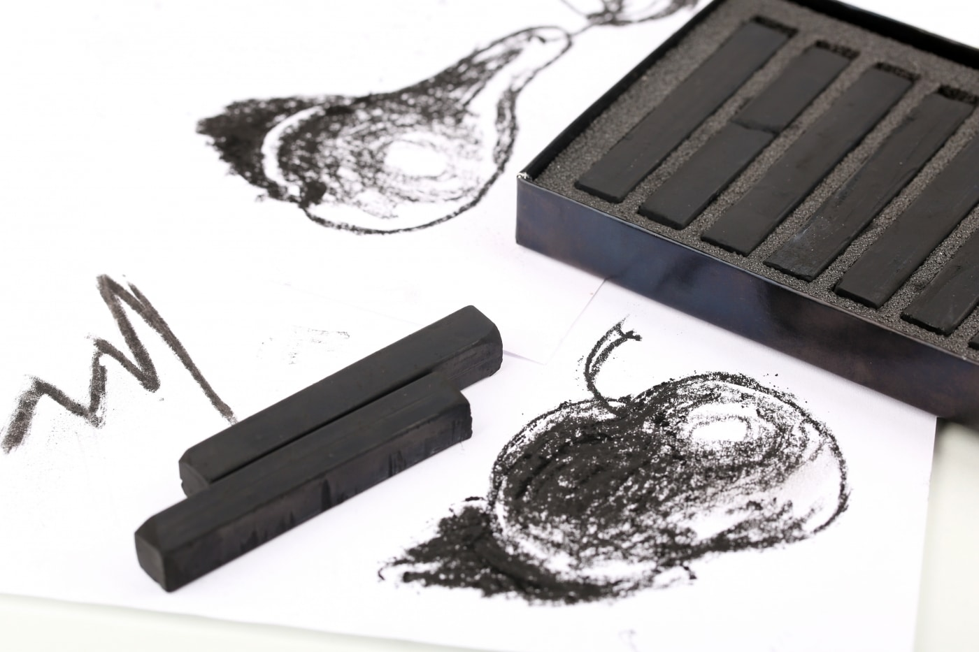 Charcoal Drawing Supplies