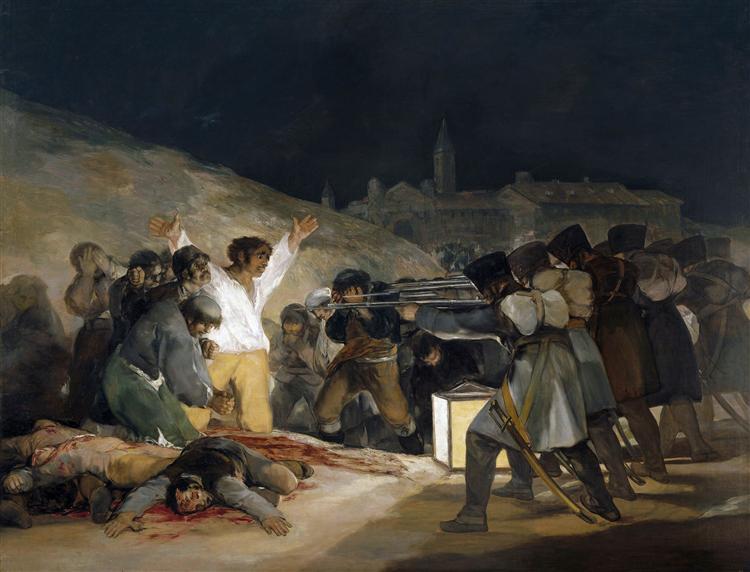 Hispanic Painter Francisco Goya