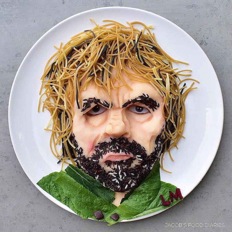 Food Art on the Plate