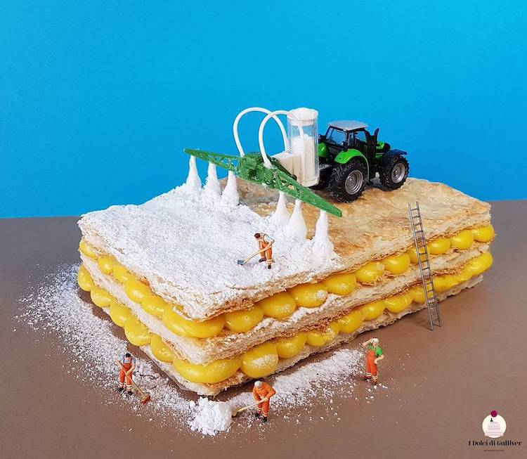 Food Art Miniature Worlds by Matteo Stucchi