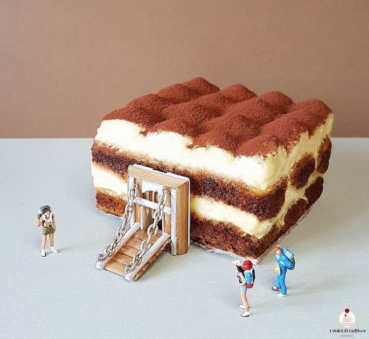 Food Art Miniature Worlds by Matteo Stucchi
