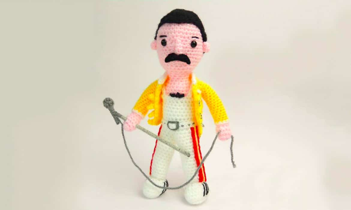 craft a crochet freddie mercury doll with this free online pattern craft a crochet freddie mercury doll