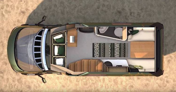 Sprinter Van Home Concept by Hymer