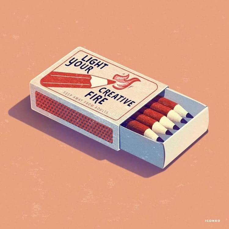 Illustration Art by Steffen Kraft ICONEO