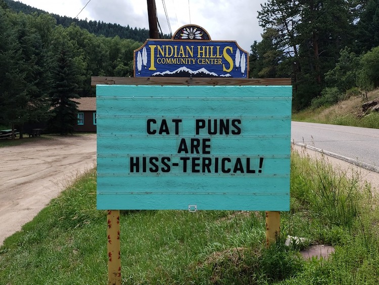 Punny Jokes on Indian Hills Community Center