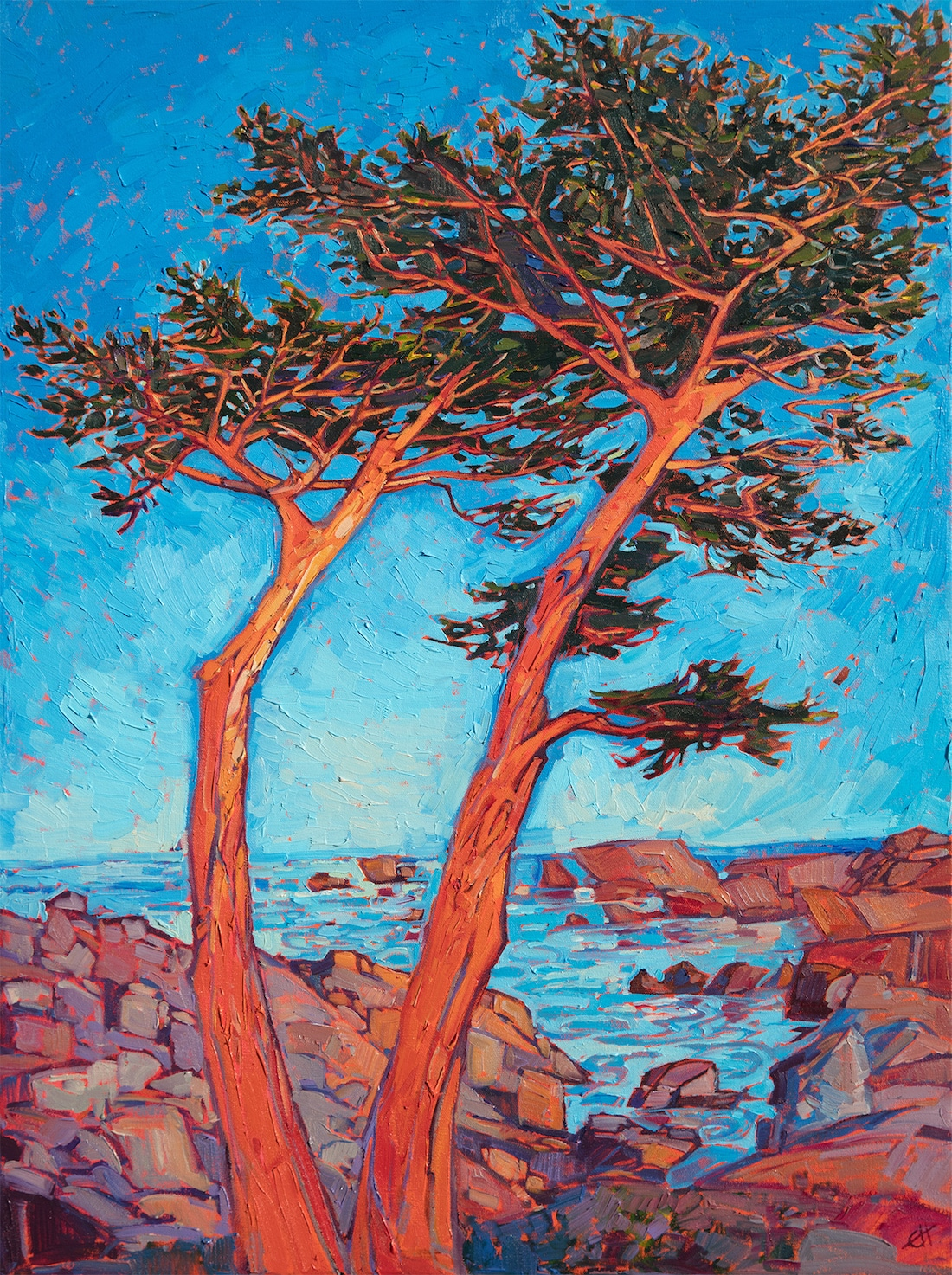 Erin Hanson Painting