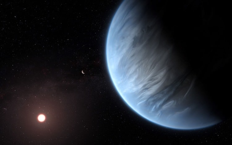 Water Discovered on K2-18b Exoplanet