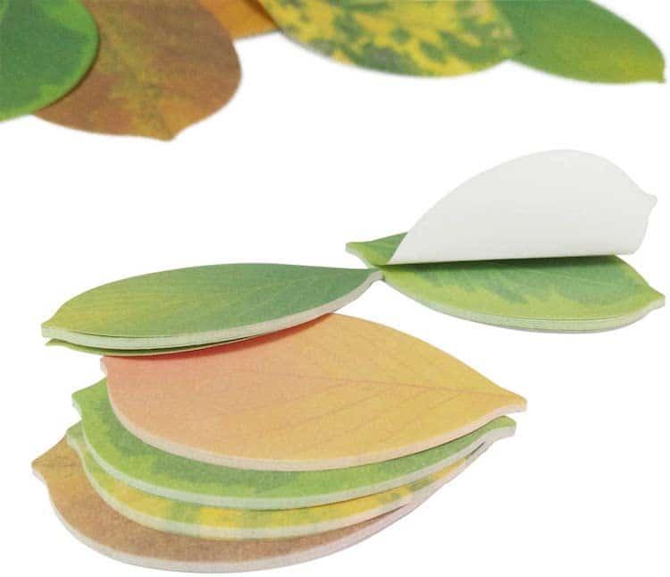 Tree Leaf Sticky Notes