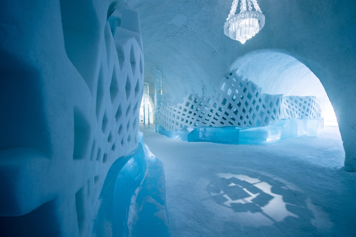 Icehotel Sweden Main Hall