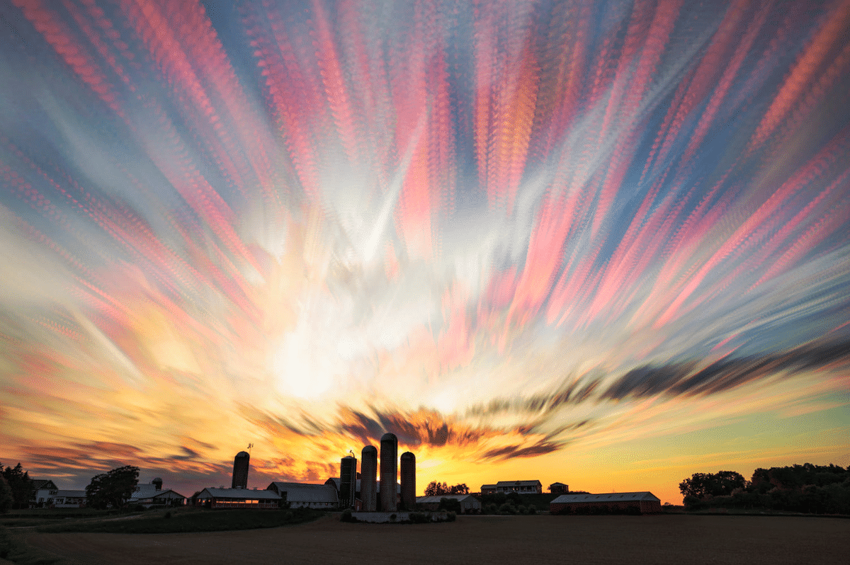 Fotos superpuestas por Matt Molloy