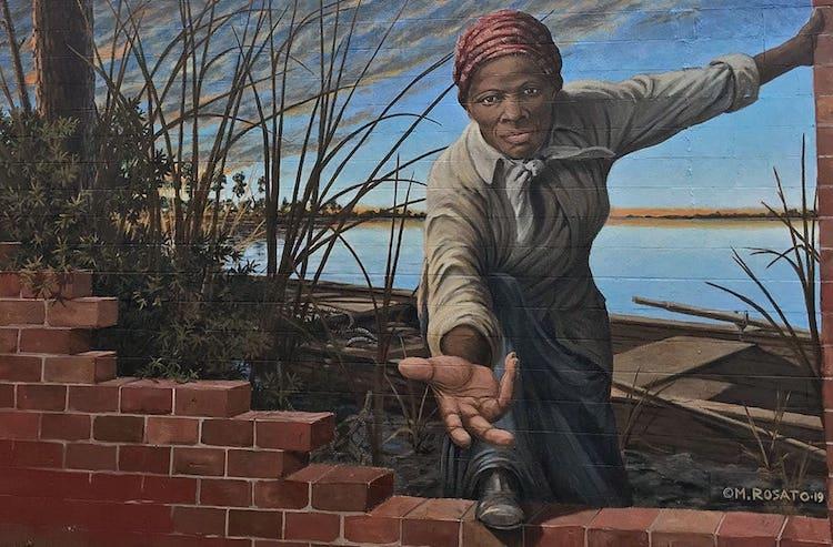 Harriet Tubman Museum Mural