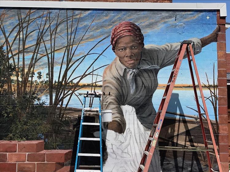 Harriet Tubman Mural