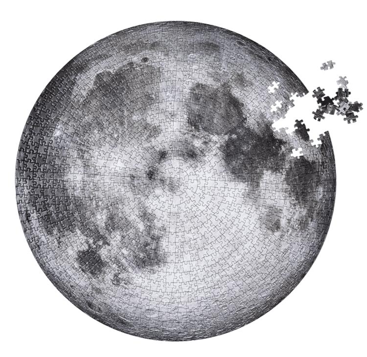 puzzle de la luna