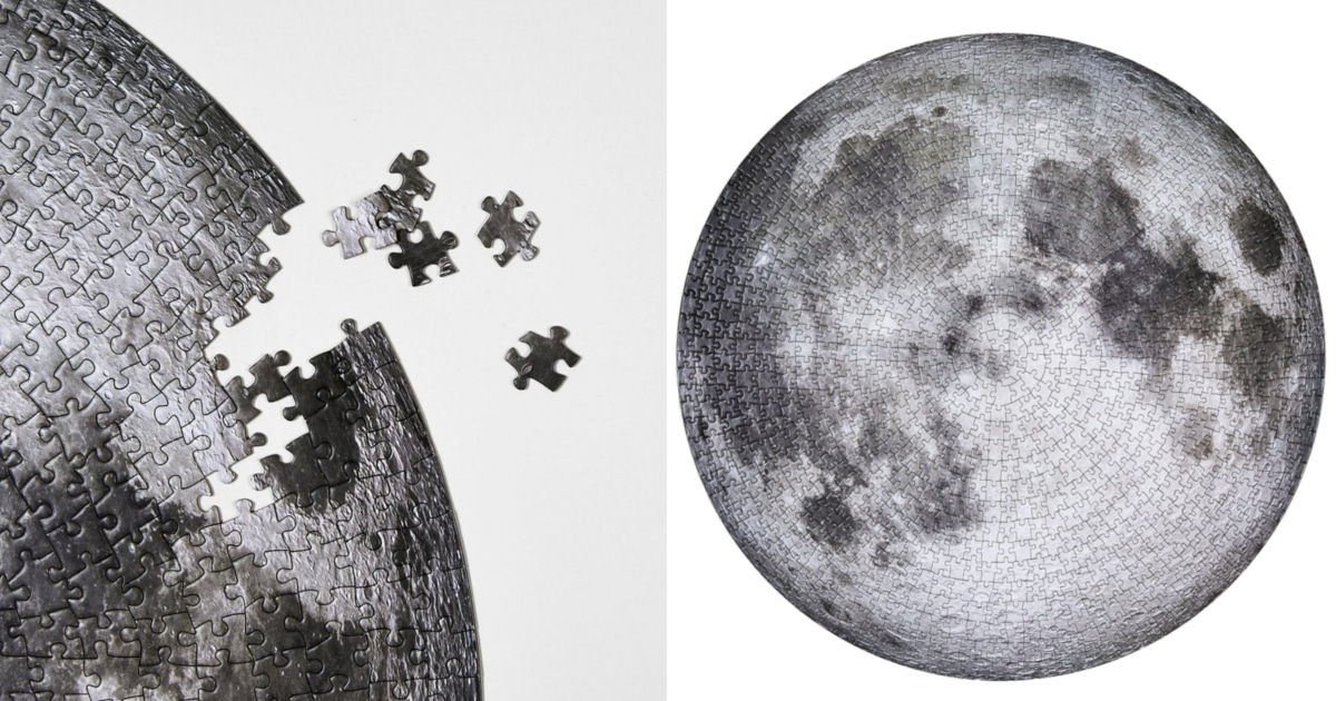 Mesmerizing Moon Puzzle Lets You Piece Together a Real Photo Taken by NASA