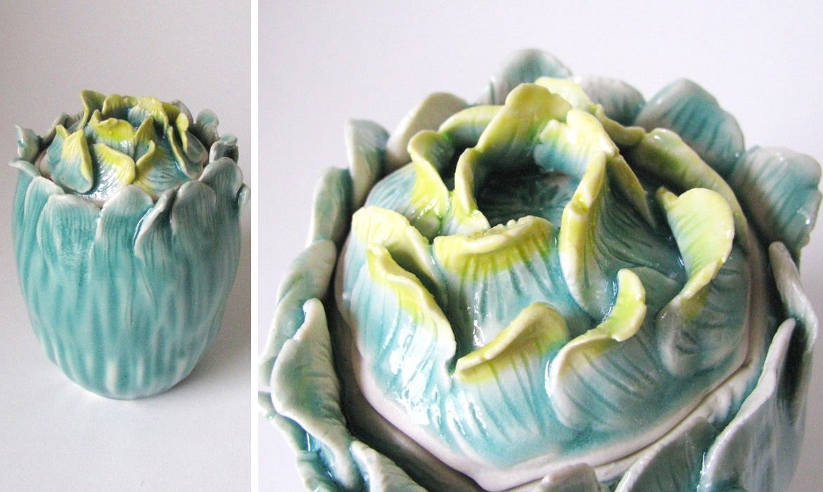 Interview Artist Sculpts Ceramic Vessels Inspired By Nature