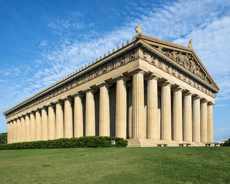 Nashville Parthenon Replica