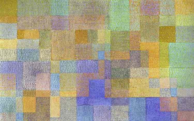 Paul Klee Art and Music
