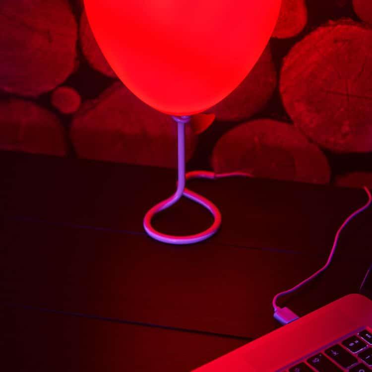 Lámpara del globo de Pennywise