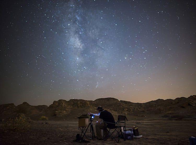 Astrophotography by Samy Olabi