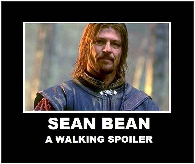Sean Bean Dies in Every Film
