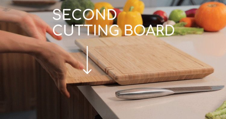 Smart Cutting Board ChopBox by The Yes Company