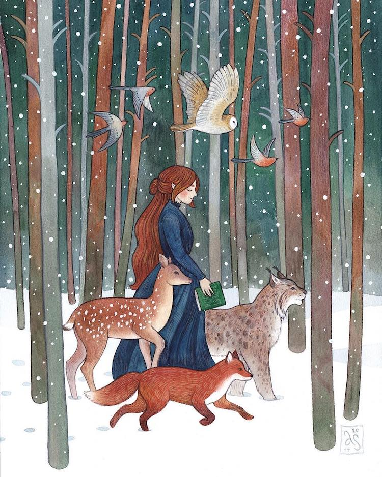 Storybook Illustrations by Anna Speshilova