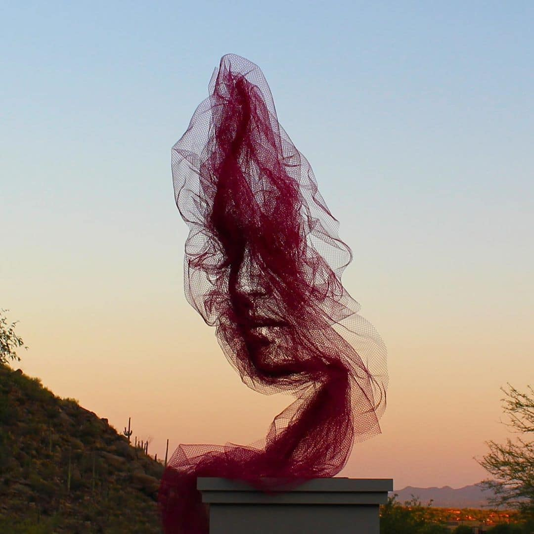 Tulle Portraits by Benjamin Shine