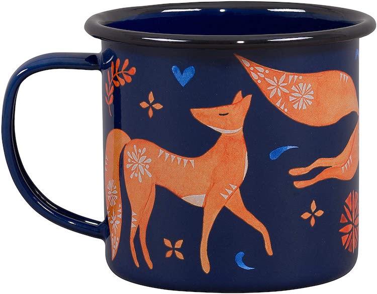 Folklore Enamel Mug