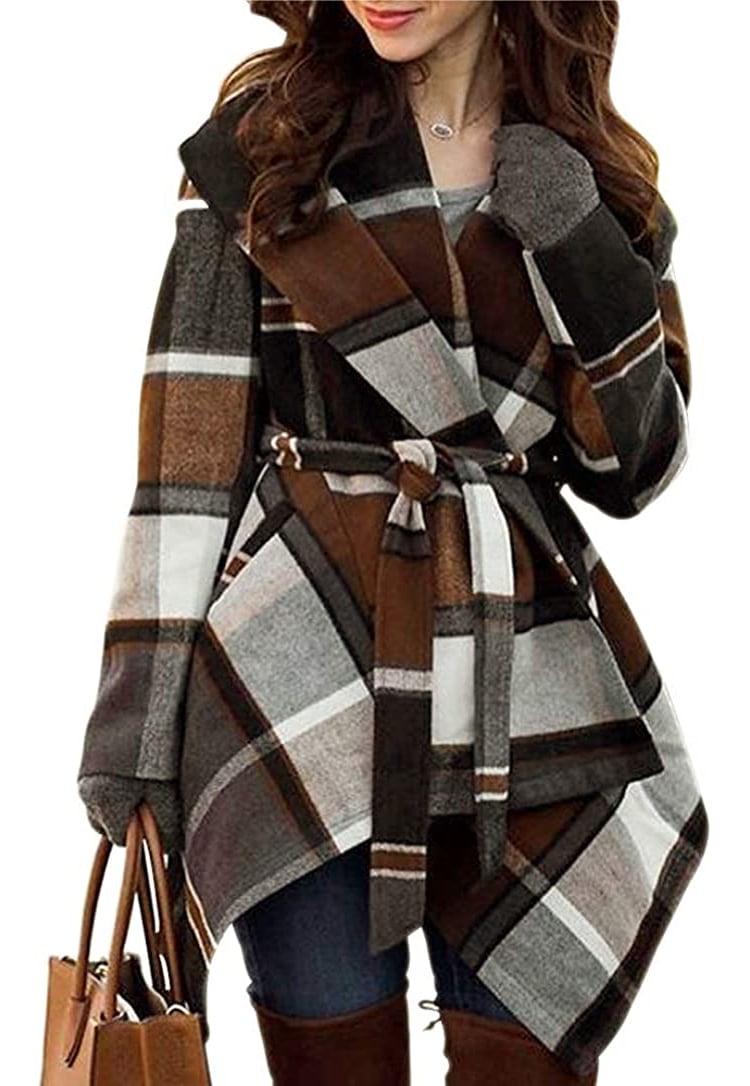 Wool Shawl Coat on Amazon