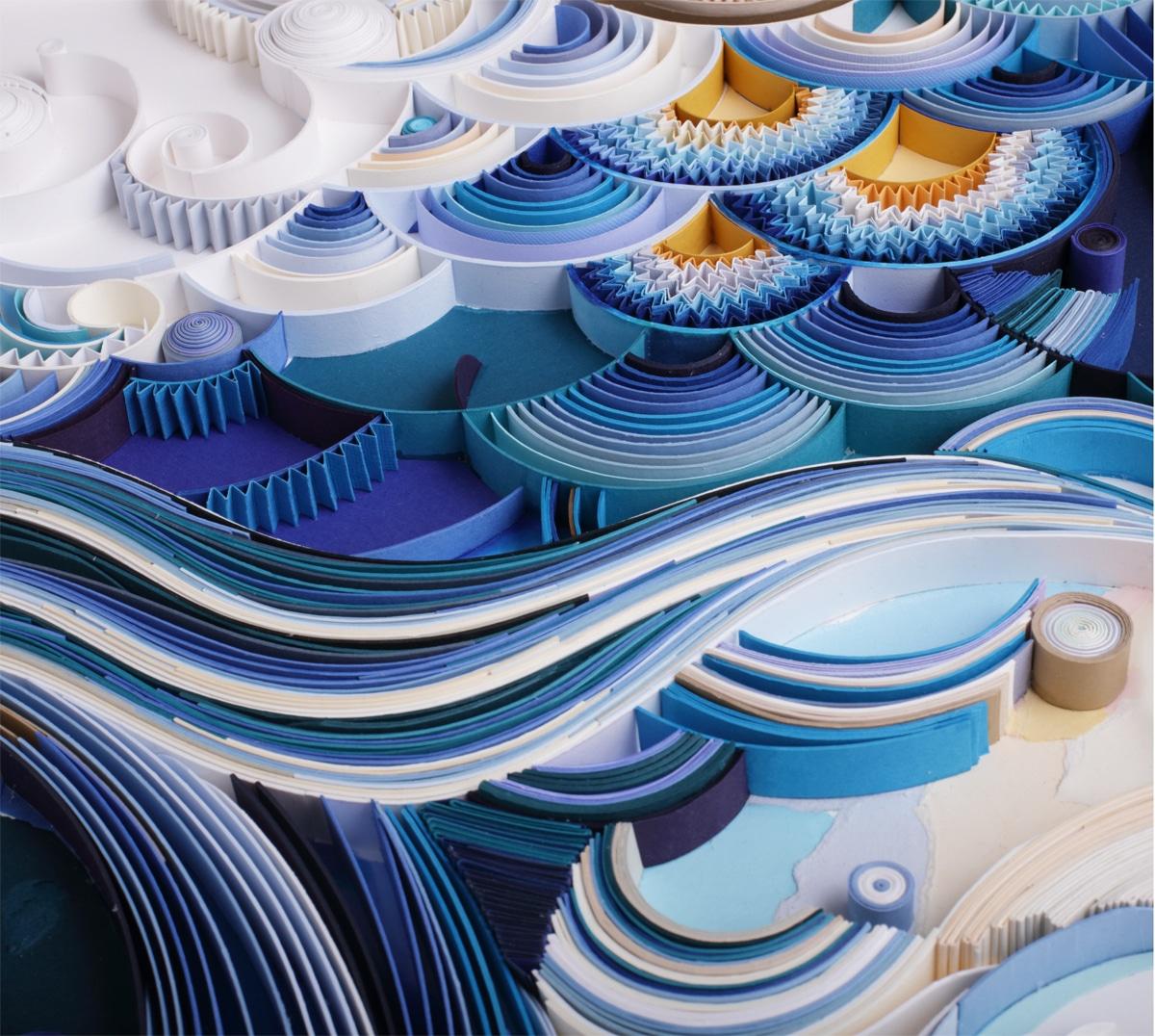 filigrana de papel por Yulia Brodskaya
