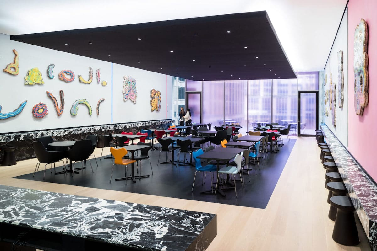 The Caroll and Milton Petrie Terrace Sixth Floor Café at the Museum of Modern Art in New York City