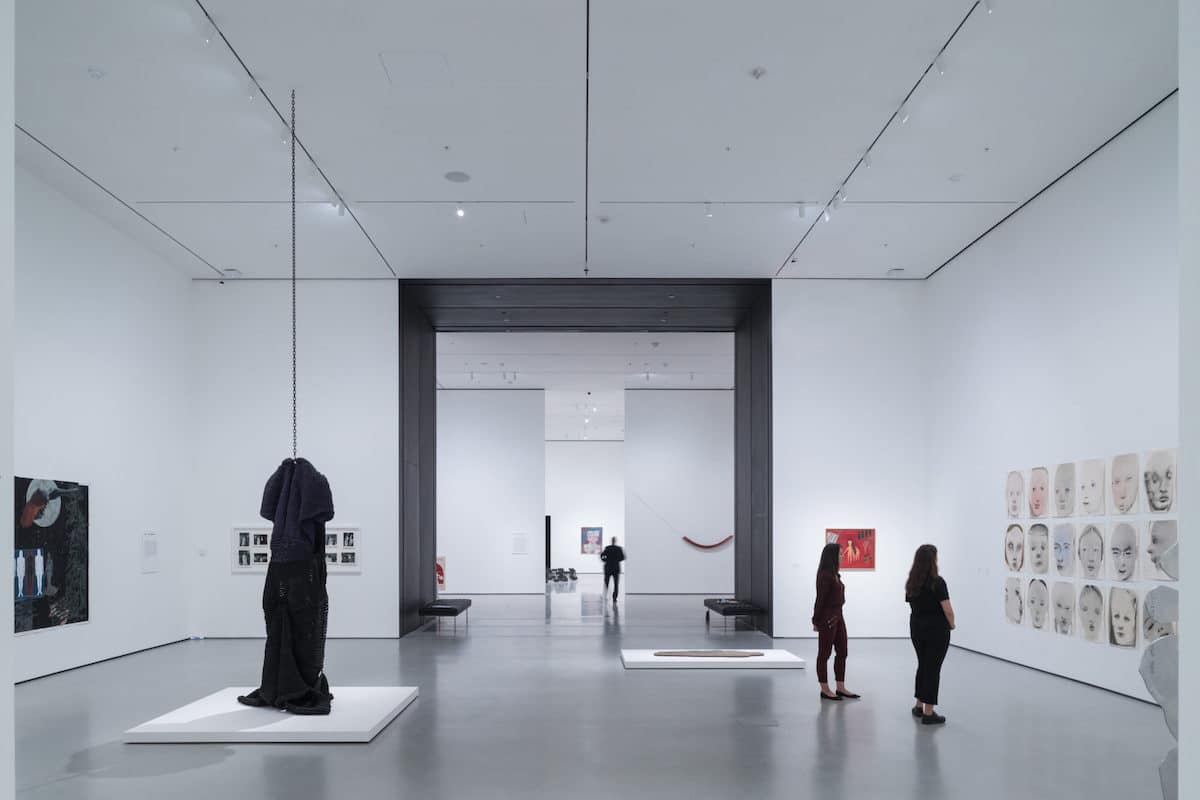 Installation View of David Geffen Wing at MoMA