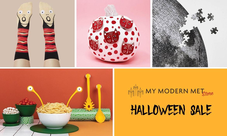 Venta de Halloween en My Modern Met Store