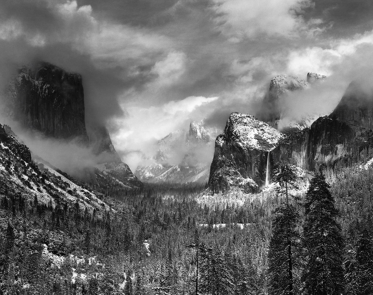 Ansel Adams Photo of Yosemite