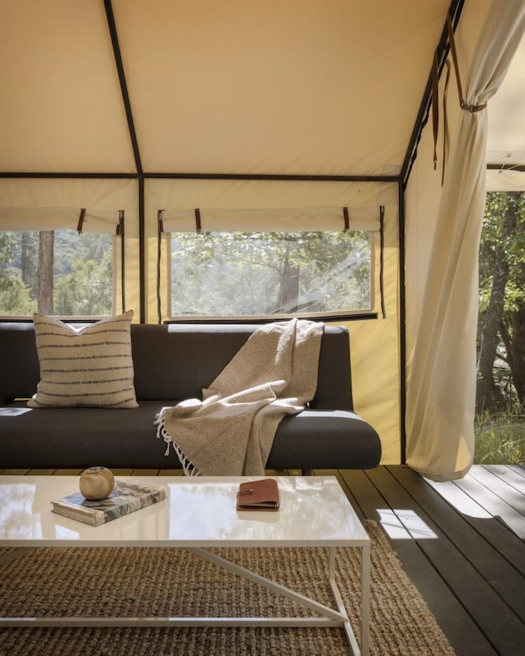 Luxury Canvas Tents Near Yosemite National Park
