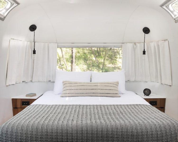 Sleek and Minimalistic Design AutoCamp Airstreams