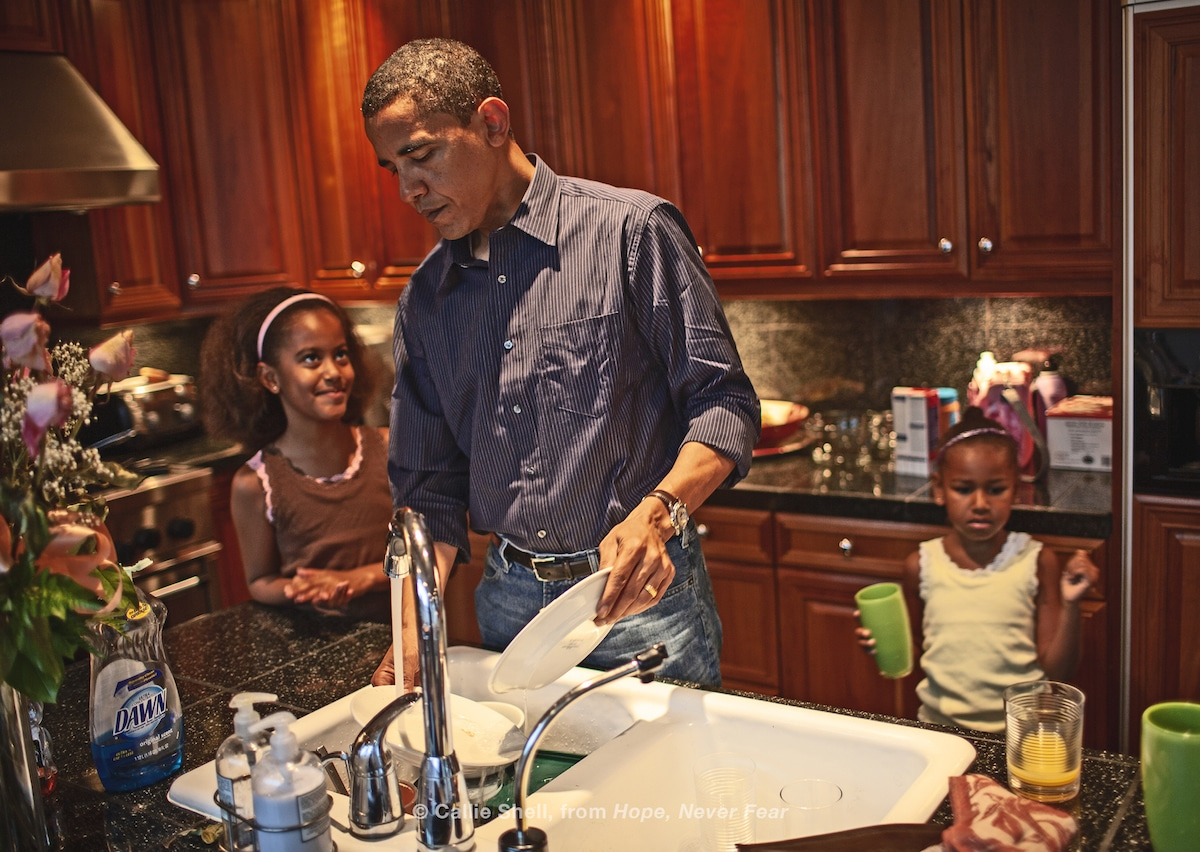 Candid Photographs of the Obama Family