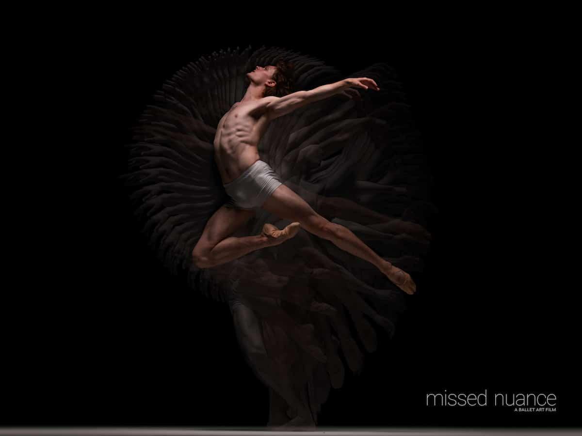 Bailarín de ballet Callum Linnane por Niv Novak