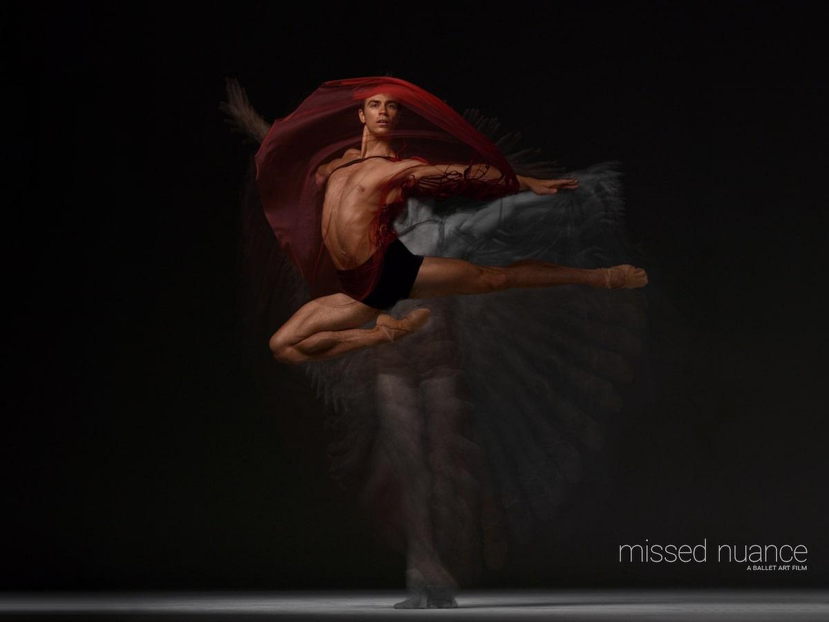 Bailarín de ballet Jake Mangakahia por Niv Novak