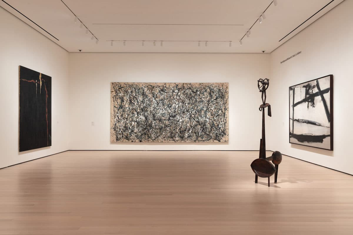 Gallery View of Newly Renovated MoMA