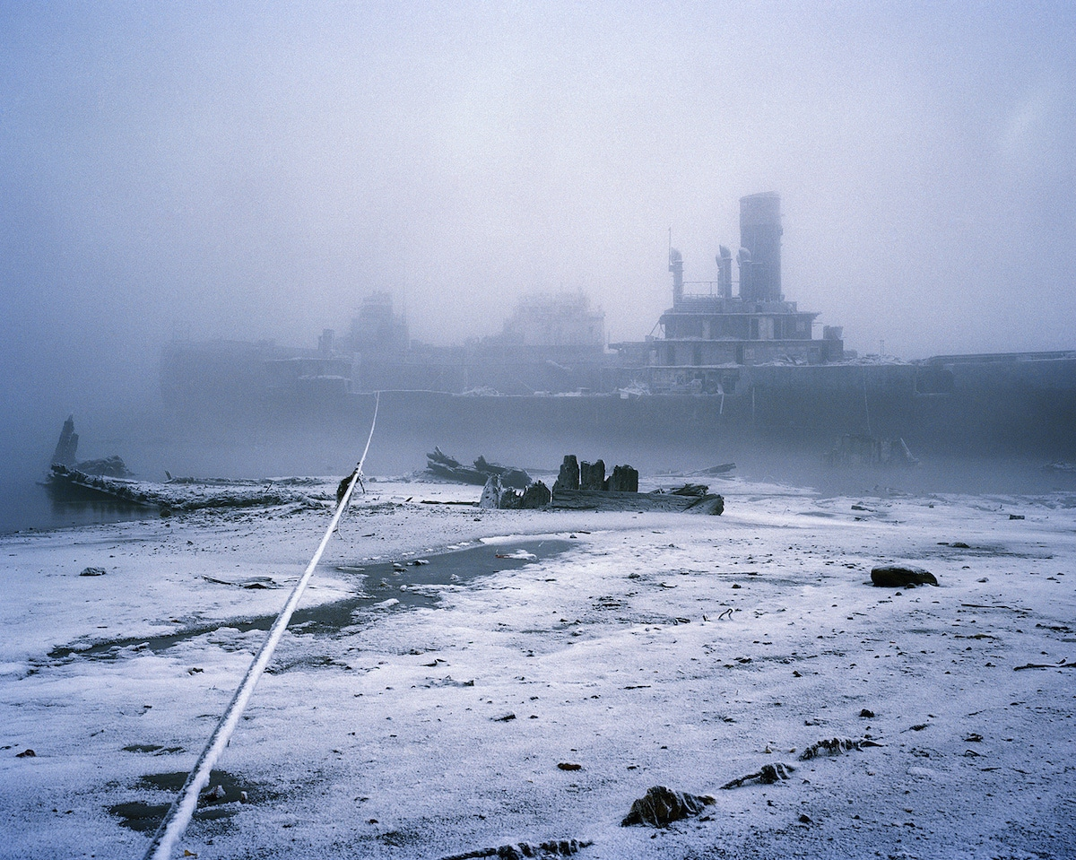 Kola Bay in Russia