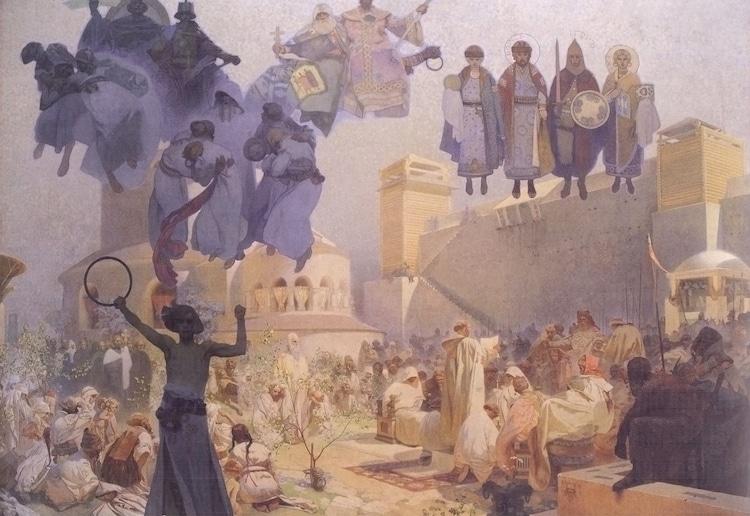 Art Nouveau carteles