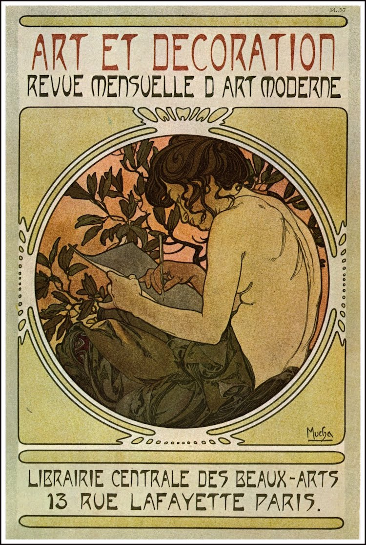Alphonse Mucha carteles