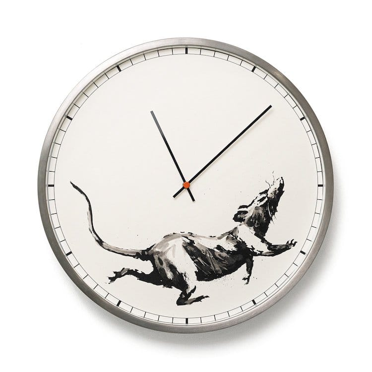 Banksy Clock from Gross Domestic Product