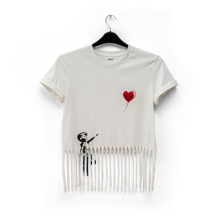 Shredded T-Shirt by Banksy