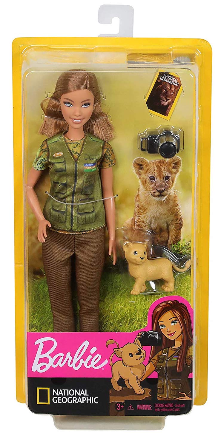 Barbie fotoperiodista para National Geographic