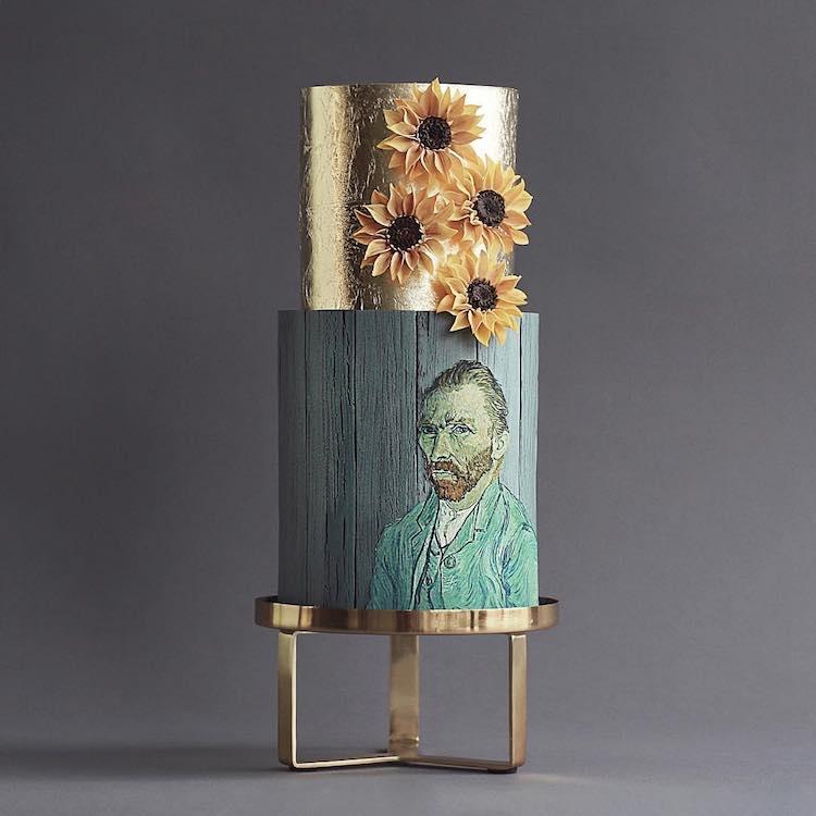 Pasteles inspirados en obras de arte por Tortik Annushka