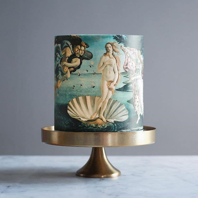 Fine Art-Inspired Cake Art by Tortik Annushka