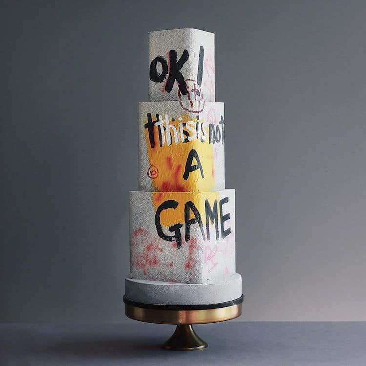 Pasteles decorados con obras de arte por Tortik Annushka