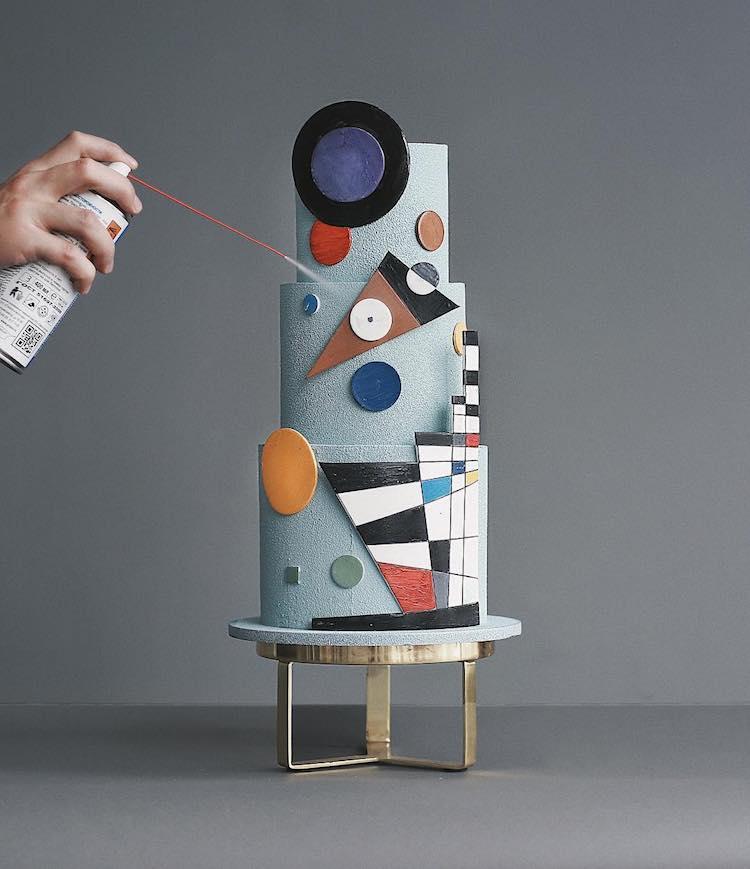 Pastel de Kandisnsky por Tortik Annushka